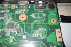 Výměna napájecího konektoru Asus X54C