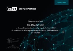 eset Bronze Partner 2021